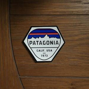 Retro Patagonia Logo Sticker